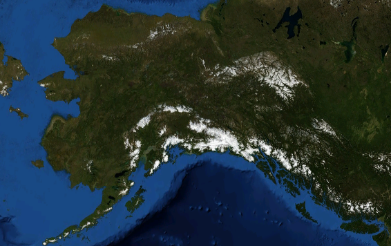Alaska coastline (Credit: commons.wikimedia.org)